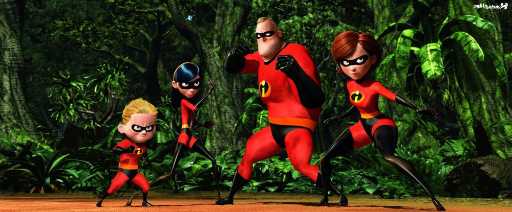 دانلود انیمیشن شگفت انگیزان The Incredibles 2004 با دوبله فارسی
