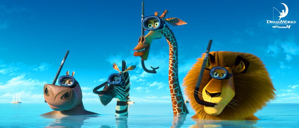 دانلود انیمیشن ماداگاسکار Madagascar با دوبله فارسی