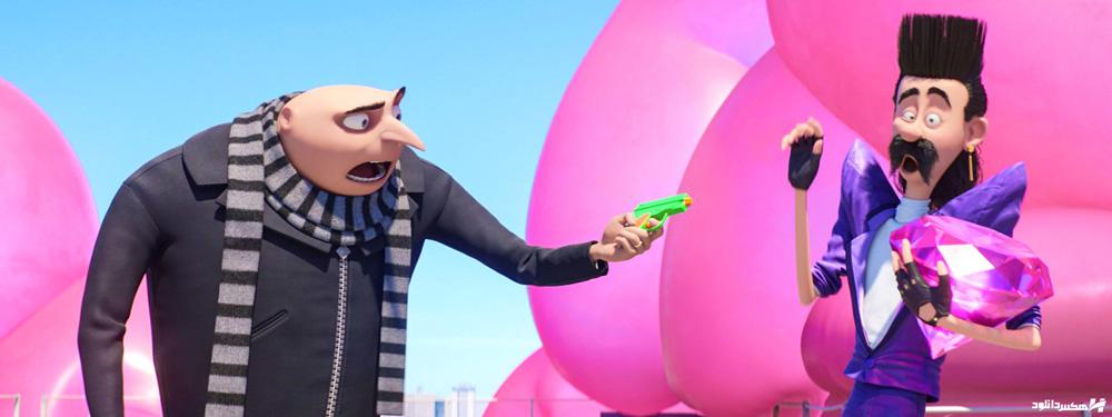 دانلود انیمیشن من نفرت انگیز 3 - Despicable Me 3 2017