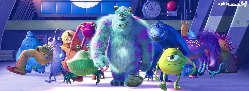 دانلود انیمیشن کارخانه هیولاها Monsters Inc. 2001 با دوبله فارسی