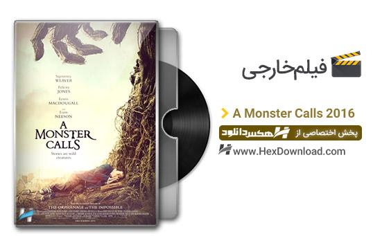 دانلود فیلم هیولایی فرا می خواند A Monster Calls 2016