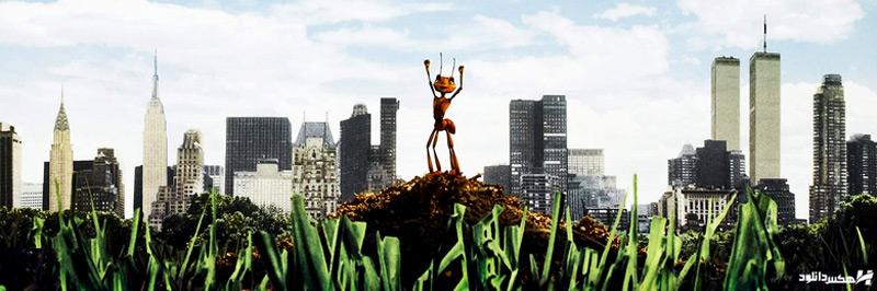 دانلود انیمیشن مورچه ای بنام زی Antz 1998 با دوبله فارسی