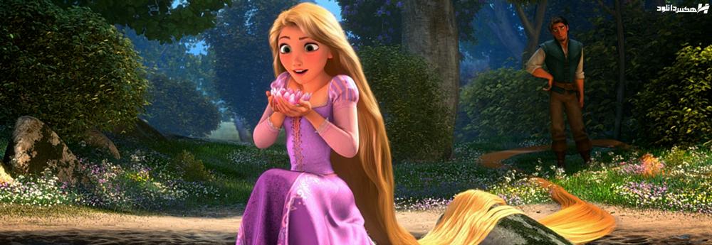دانلود انیمیشن راپونزل و قلم جادویی Barbie as Rapunzel 2002 با دوبله فارسی