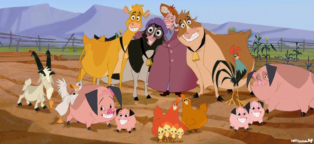 دانلود انیمیشن خانه ای در مزرعه Home on the Range 2004 با دوبله فارسی