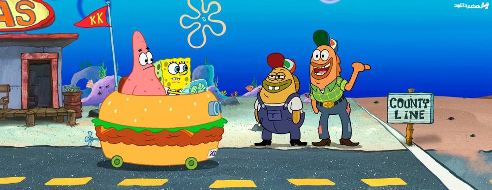 دانلود فیلم باب اسفنجی The SpongeBob SquarePants Movie 2004 با دوبله فارسی