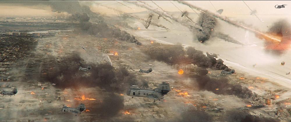 دانلود فیلم نبرد لس آنجلس 2011 با دوبله فارسی
