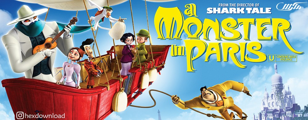 دانلود انیمیشن A Monster in Paris 2011
