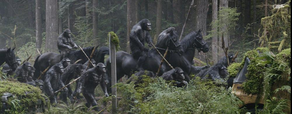 دانلود فیلم طلوع سیاره میمون ها 2014 با دوبله فارسی