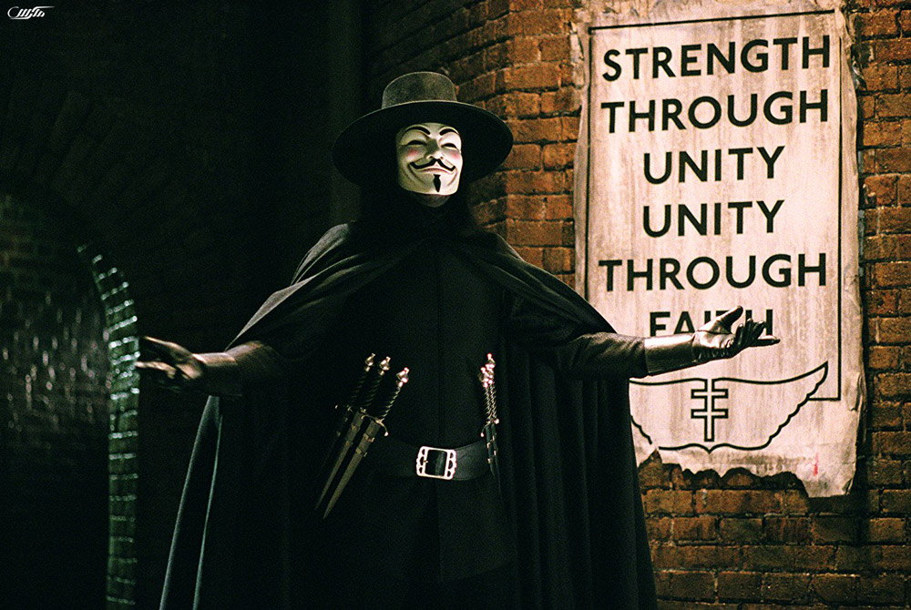 دانلود فیلم انتقام جو V For Vendetta 2005 با دوبله فارسی هکس دانلود