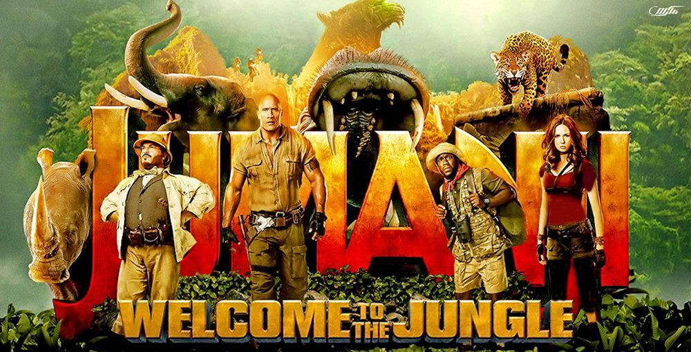 دانلود فیلم جومانجی به جنگل خوش آمدید Jumanji Welcome to the Jungle 2017