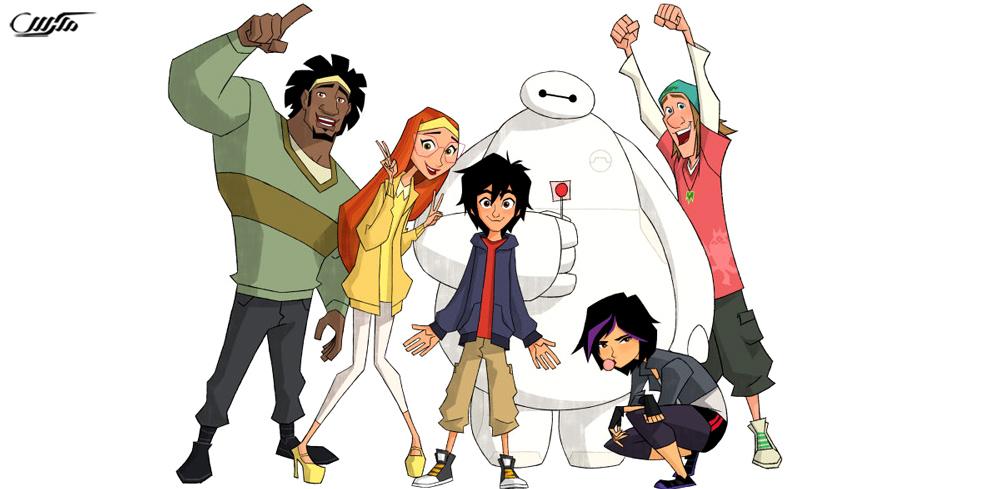 دانلود انیمیشن سریالی 6 ابرقهرمان