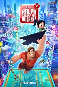 دانلود انیمیشن رالف خرابکار 2 Ralph Breaks the Internet 2018