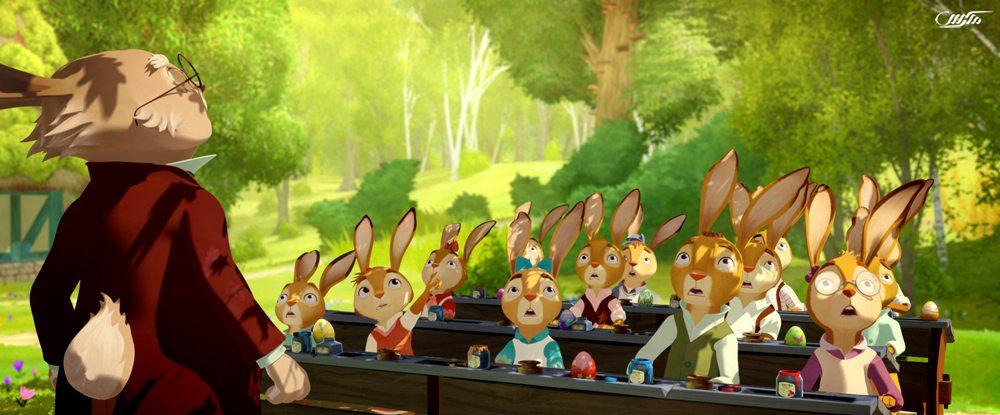 دانلود انیمیشن مدرسه خرگوش ها - محافظان تخم مرغ طلایی
