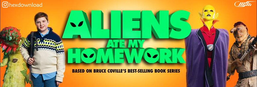 دانلود فیلم Aliens Ate My Homework 2018