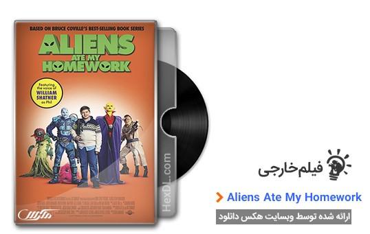 دانلود فیلم Aliens Ate My Homework 2018