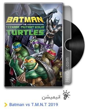 دانلود انیمیشن Batman vs Teenage Mutant Ninja Turtles 2019