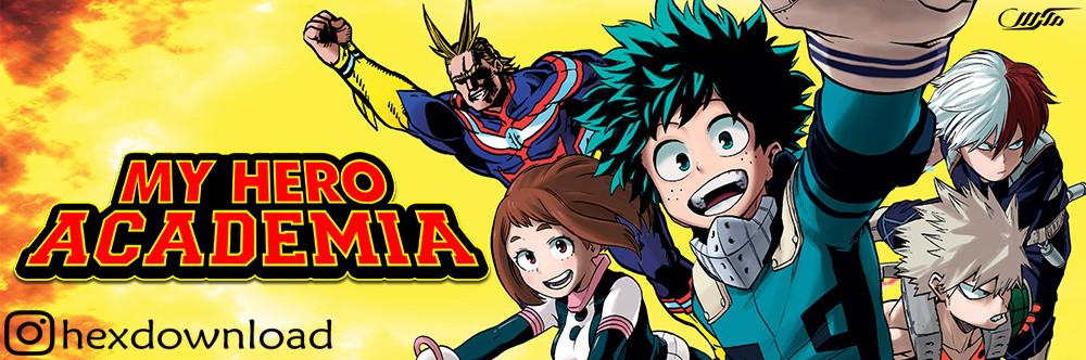 دانلود انیمیشن سریالی My Hero Academia