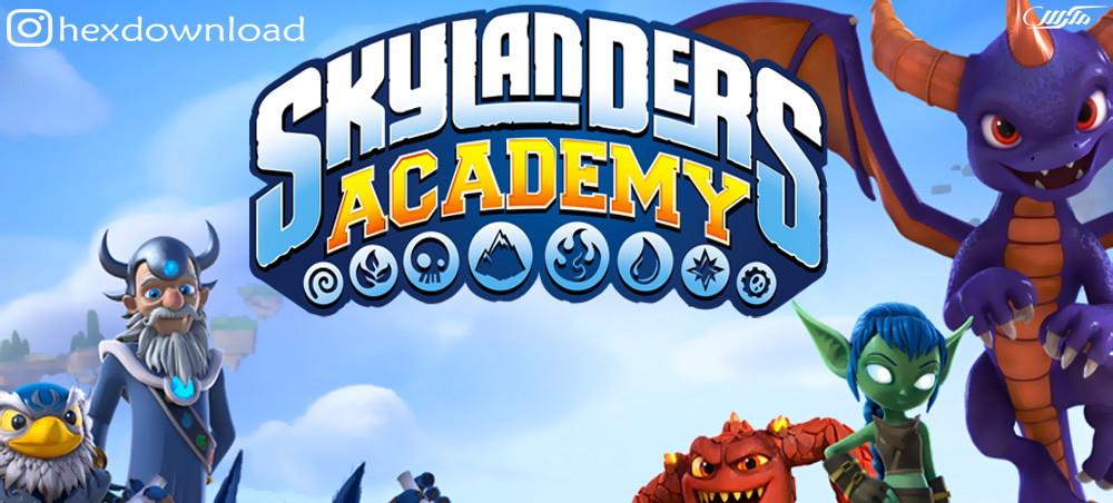 دانلود انیمیشن سریالی Skylanders Academy