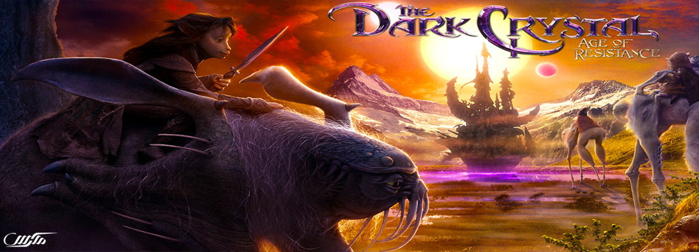 دانلود سریال The Dark Crystal: Age of Resistance
