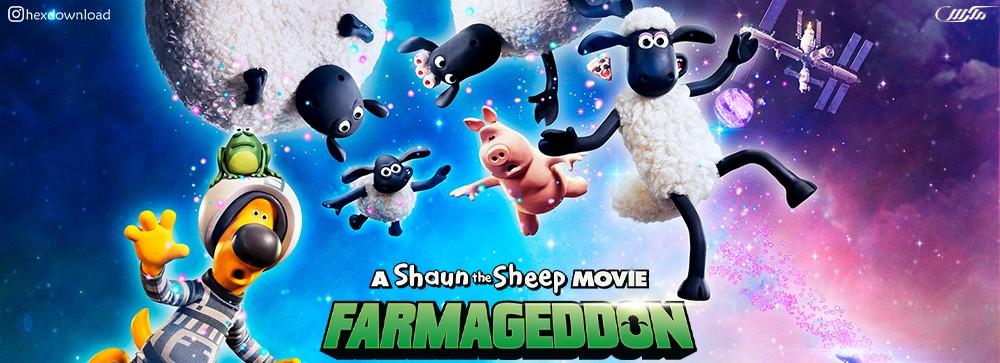 دانلود انیمیشن A Shaun the Sheep Movie: Farmageddon 2019