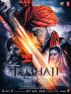 دانلود فیلم Tanhaji: The Unsung Warrior 2020