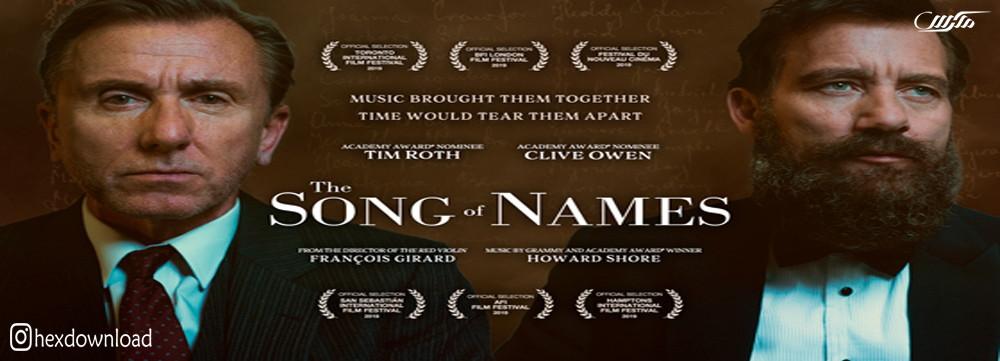 دانلود فیلم The Song Of Names 2019
