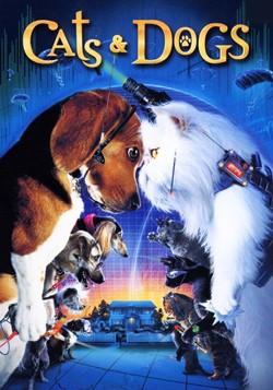 دانلود فیلم گربه ها و سگها Cats & Dogs 2001