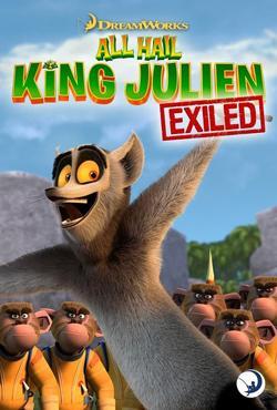 دانلود انیمیشن سریالی زنده باد شاه جولین All Hail King Julien