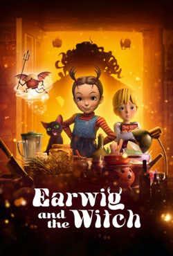 دانلود فیلم ایرویگ و ساحره Earwig and the Witch 2020