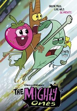 دانلود انیمیشن سریالی چهار نیرومند The Mighty Ones