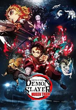 دانلود انیمیشن اهریمن کش قطار موگن Demon Slayer: Mugen Train 2020