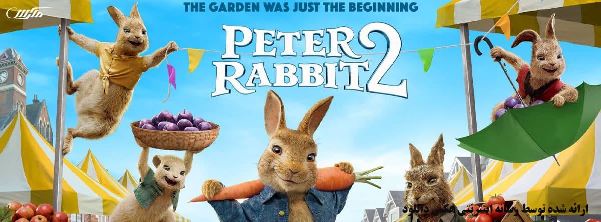 دانلود انیمیشن پیتر خرگوشه 2 فراری 2021