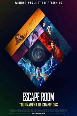 دانلود فیلم اتاق فرار 2 جدال قهرمانان Escape Room 2021