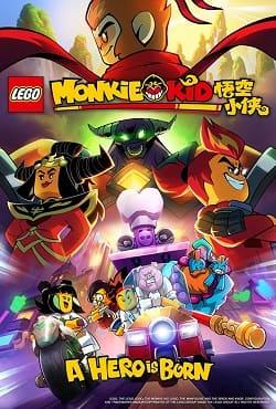 دانلود انیمیشن پسر میمونی قهرمانی متولد می شود Monkie Kid 2020
