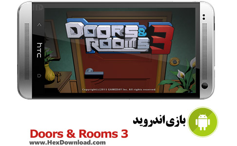 دانلود بازی اندروید درها و اتاق ها 3 - Doors&Rooms 3