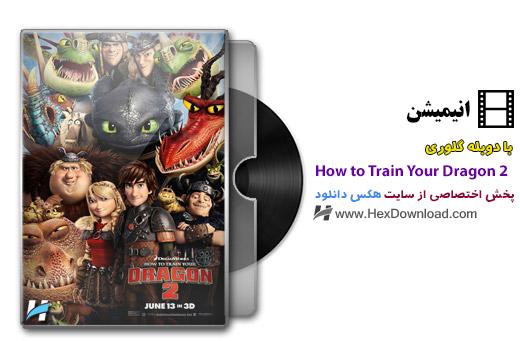 دانلود انیمیشن How to Train Your Dragon 2 2014 با دوبله فارسی