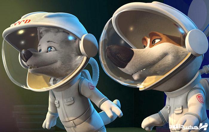دانلود انیمیشن Space Dogs Adventure to the Moon 2016